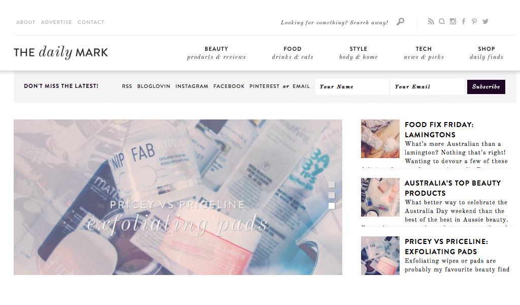 starting-with-a-blog-shelf-dailymark