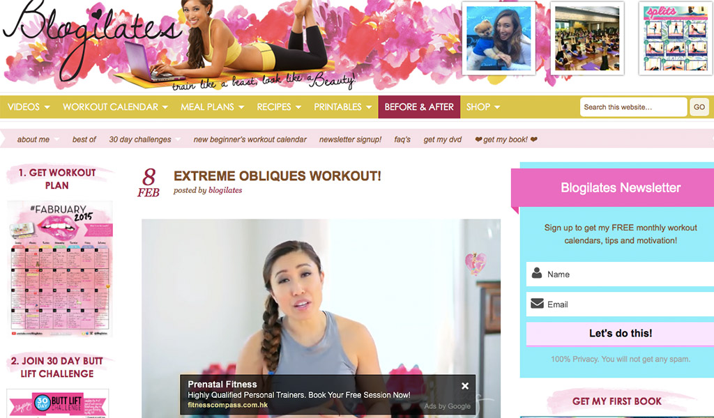 starting-with-a-blog-blog-shelf-blogilates