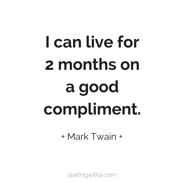 how to accept a compliment - confidence