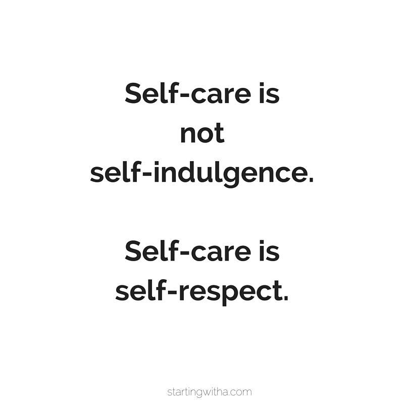 self-care-is-self-respect