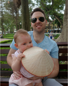 hanoi with a baby