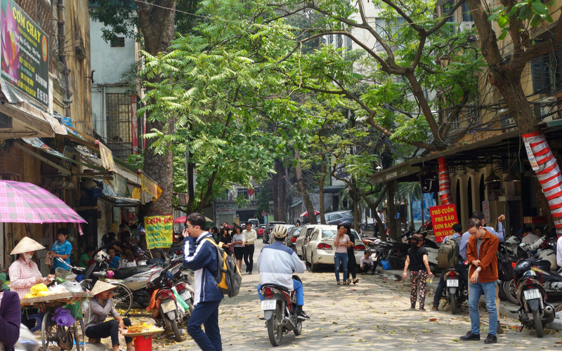 three days in Hanoi Vietnam
