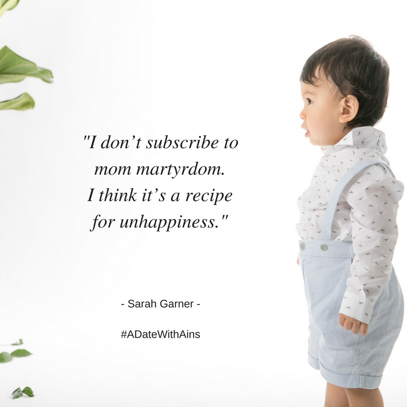 babies and business sarah garner quote