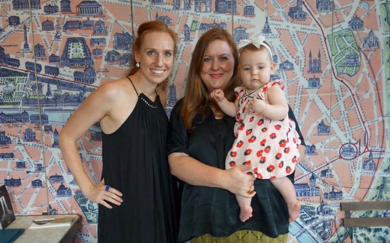 business and babies in Hong Kong - Belinda Bath and Ainslie Young