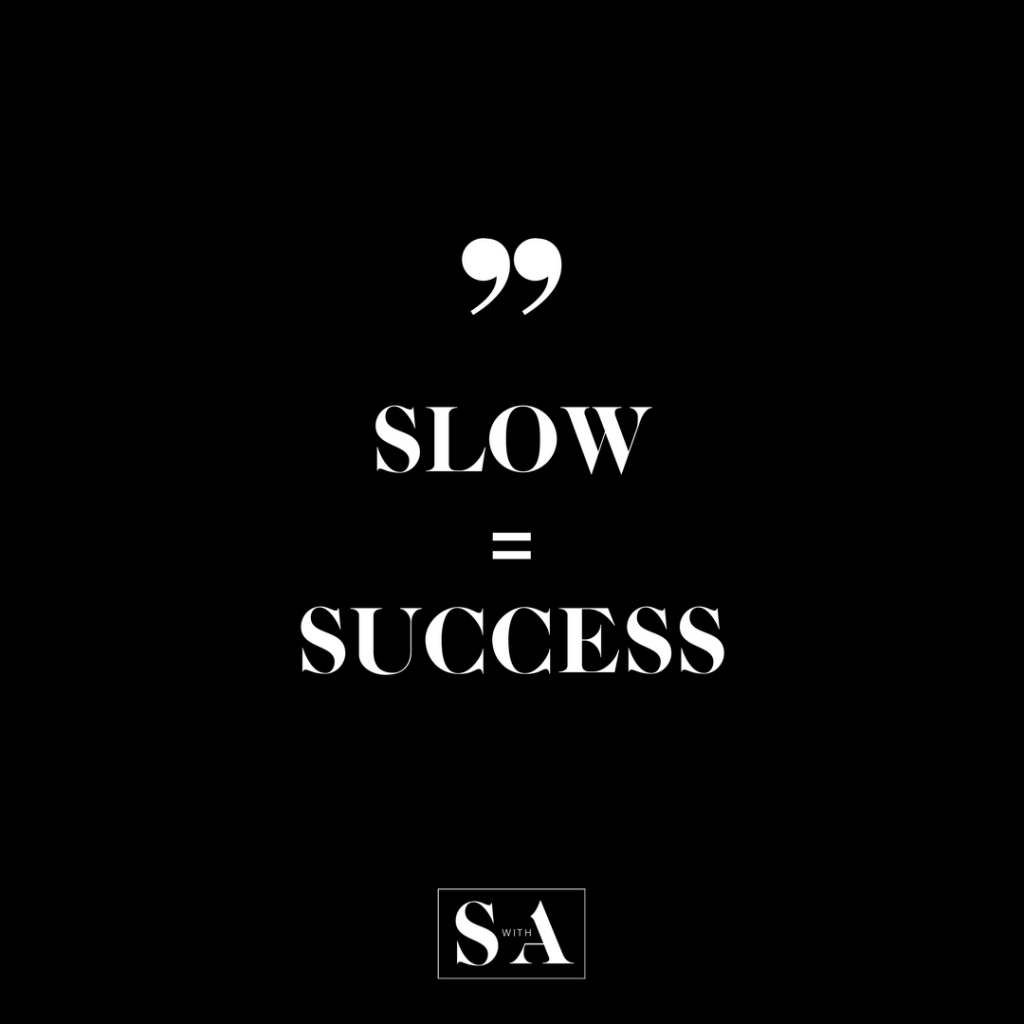 SLOW SUCCESS-2