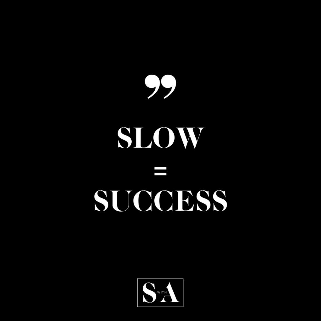 SLOW SUCCESS-2
