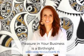 pleasure in business